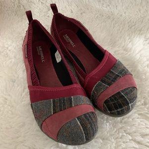 Merrill Women's Delight Glove Wool Flats Shoe 8.5